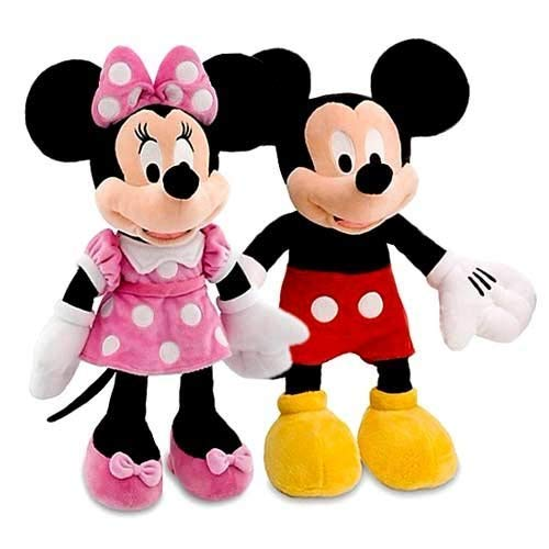 Marchie's Premium Quality Mickey and Minnie Mouse Couples Stuffed Soft Toys of 30 cm(Medium Size)