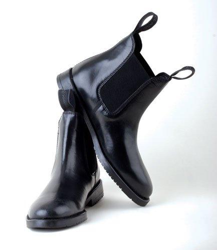 Rhinegold Adults Classic Leather Horse Riding Jodhpur Boots