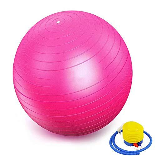 Pink Xinlie Mini Pilates Ball Overball 25cm Gymnastikball Yogaball Therapieball Anti-Burst F/ür Fitness Familie, Fitnessstudio und B/üro Reha R/ückentraining und Coordination