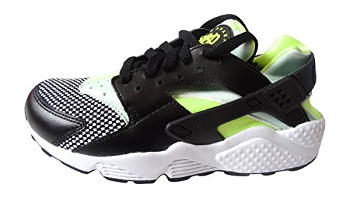 Nike Herren Air Huarache Sneakers black/medium mint-volt 037