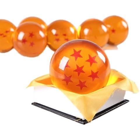 Dragon Ball cosplay apoyos de un punto Crystal 7cm Ruleronline (DRAGON BALL) bola de cristal Seven-Star Dragon Ryu-dama (jap?n