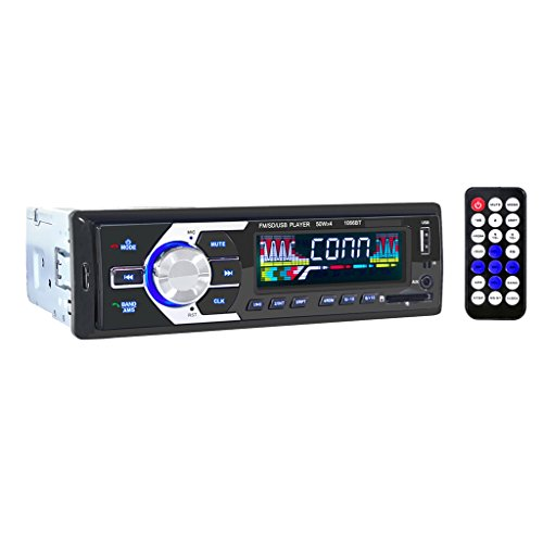 Aux Stereo-cd-player Mit Auto (MagiDeal Drahtlos Auto radio USB/ CD-Receiver mit Bluetooth Audio-Empfaenger/ MP3-Player)