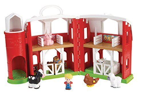 Mattel Fisher-Price CHJ51 - Little People Tierfreunde Bauernhof (Bauernhof Little People)