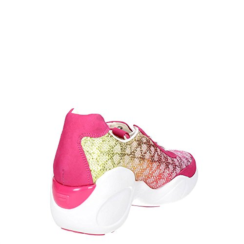 Fornarina PEFUP9541WVA6200 Sneakers Bassa Donna Fuxia