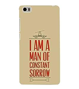 FUSON Man Of Constant Sorrow 3D Hard Polycarbonate Designer Back Case Cover for Xiaomi Mi 5 :: Redmi Mi5