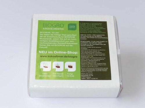 BIOGRO® Kokos-Blumenerde - im Quellbeutel - 10 L (20)