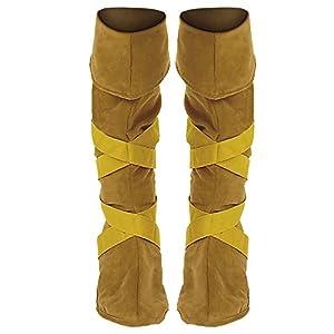 WIDMANN Indians laced a pair of boot covers (accesorio de disfraz)