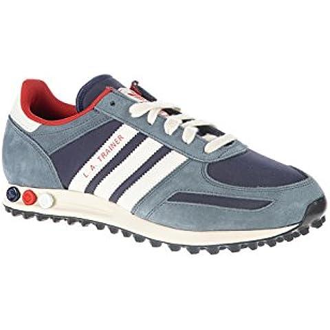 adidas Originals M35492, Sneaker uomo Multicolore blu/rosso 43.3333333333