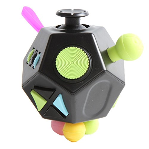 Wangyue NEW Second Generation Series of Fidget Toy Fidget Cube Stress Reducer Relieves Stress And Anxiety Toy -
