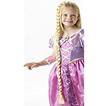Rapunzel infantil Disfraz Accesorio trenzado peluca Disney