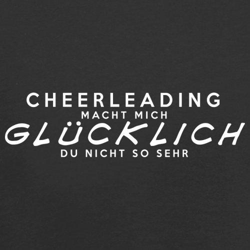 Cheerleading macht mich glücklich - Unisex Pullover/Sweatshirt - 8 Farben Schwarz