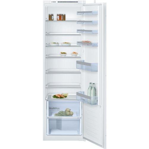 Bosch Serie 4 KIR 81VS30 Intégré 319L A++ Blanc réfrigérateur - Réfrigérateurs (319 L, SN-T, 37 dB, A++, Blanc)