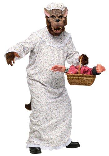 The Big Bad Wolf Costume Fancy Dress (Big Bad Wolf Maske Kostüm)