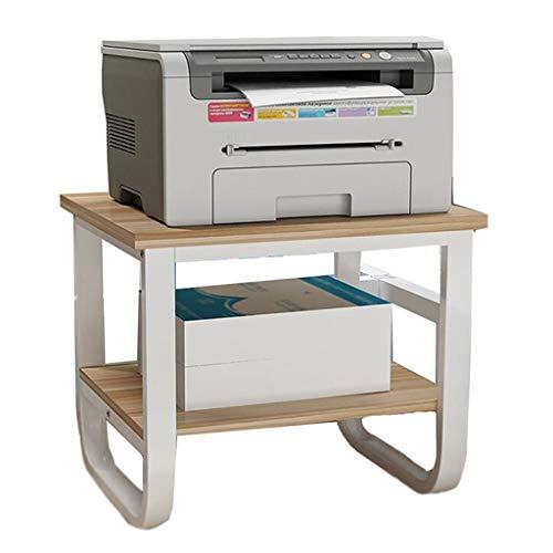 Accessori per stampanti a inchiostro e laser rack di stampa rack di archiviazione desktop rack da cucina mensola per stampante desktop regalo perfetto (color : yellow, size : 50cm*40cm*42cm)