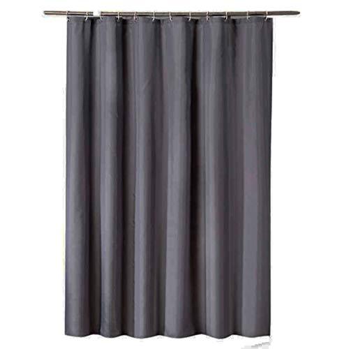 Duschvorhang Plain Dark Grey Hochwertige Wasserdichte Badezimmer Partition Vorhang (dunkelgrau 200 cm * 200 cm)