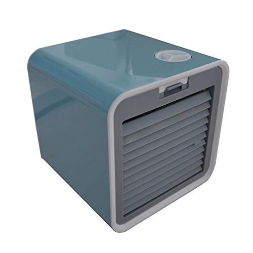 TAOtTAO Mini Luftkühler USB wassergekühlter elektrischer Ventilator tragbare Haushaltsklimaanlage (Hellblau)