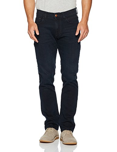 camel active Herren Straight Jeans Blau (BLUE/BLACK USED 43)