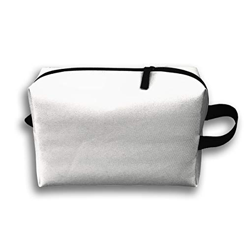 Makeup Cosmetic Bag Mad Hatter Tea Party_98845 Medicine Bag Zip Travel Portable Storage Pouch for Mens Womens 10x4.9x6.3 Inch (Mad Hatter Make-up Für)