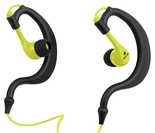 Auriculares deportivos amarillos in-Ear