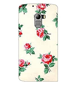 PrintDhaba Floral Pattern D-2342 Back Case Cover for LENOVO K4 NOTE A7010a48 (Multi-Coloured)