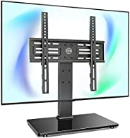 FITUEYES Tabletop TV Stand Mount with Security Wire for 26''-55'' LCD LED TV - 6 Level Height