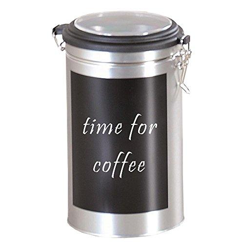 3er SET Kaffeedosen, Vorratsdosen mit beschreibbarer Fläche H 19cm Ø 11cm Kesper