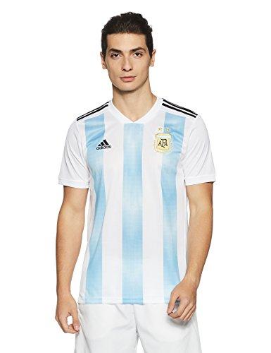 adidas Herren AFA Argentinien Home Trikot 2018 White/Clear Blue/Black XS (Trikot Home Argentinien)