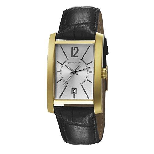Pierre Cardin PC106551F03 - Reloj para hombres, correa de cuero color negro