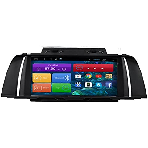 Top Navi da 10.11024* 600Android 4.4PC Auto lettore per BMW F102014- Auto di navigazione GPS WIFI Bluetooth Radio 1,2GB CPU DDR3Capacitivo Touch Screen 3G car stereo audio rubrica RDS AUX Specchio link 16GB Quad Core