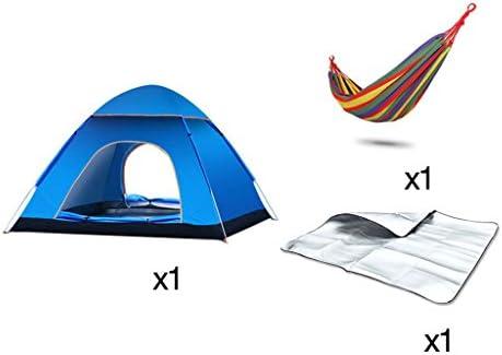 LFFTENT Tenda esterna esterna esterna 3-4 Persone automatici tende a doppia velocità per aprire Camping Parco tende allestite (Coloreee    2) | A Prezzi Convenienti  | Ideale economico  a30ddf