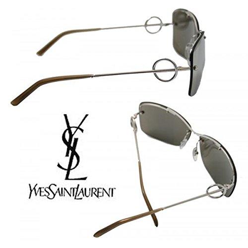 Preisvergleich Produktbild Unbekannt Sonnenbrille Yves Saint Laurent - YSL - Metall - 6177 / S