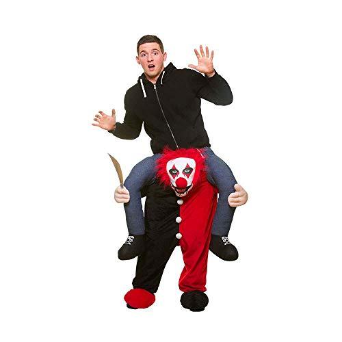 Tragen Sie Me® Killer Clown Adult Fancy Dress Kostüm Eine - Wicked Clown Kostüm