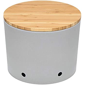 Magu Kartoffeltopf mit Bambusholzdeckel Bambus Natur-Design