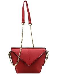 Trendy Red Colour Designer Sling Bag For Women (slingbag1-v-red)