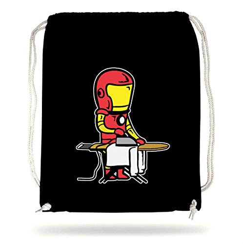Certified Freak Iron Man Gymsack Black