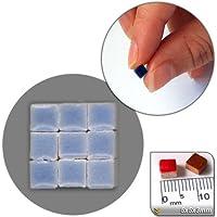mosaico de Minis (5x 5x 3mm), 500unidades, azul verdoso, WB06