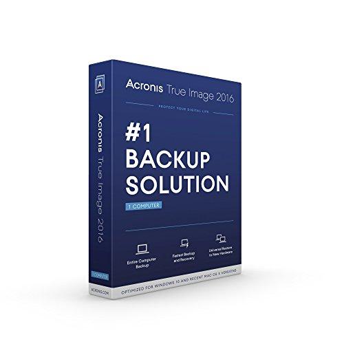 Acronis True Image 2016 - 1 Computer