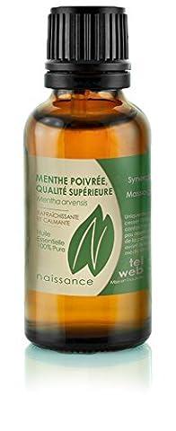 Naissance Huile Essentielle de Menthe Poivrée Premium 100% pure -
