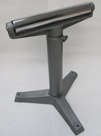 Chevalet à rouleau 350 mm 35 cm Support matériau Rouleau d'amenée Chevalet