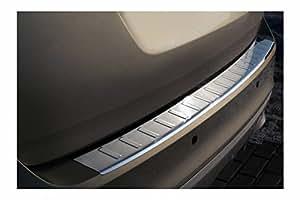 tuning-art 977 La protection de pare-chocs en acier inoxydable avec profil 3D et bord arrondi