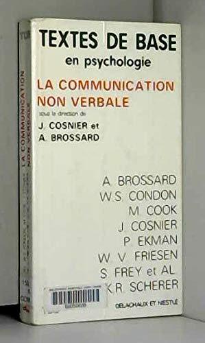 La communication non verbale par A Brossard