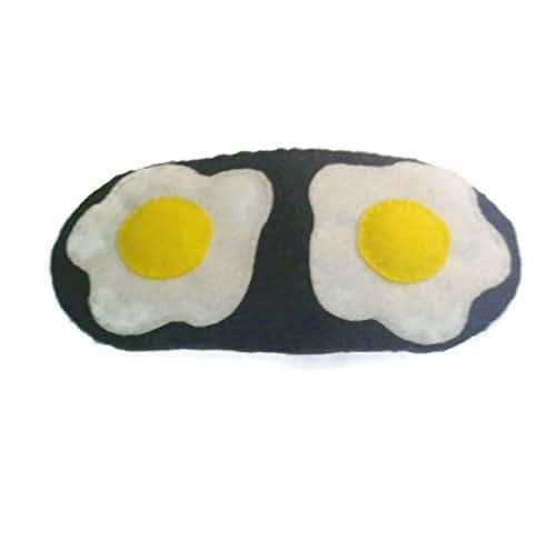 Fried Egg Sleep mask: Amazon.co.uk: Handmade