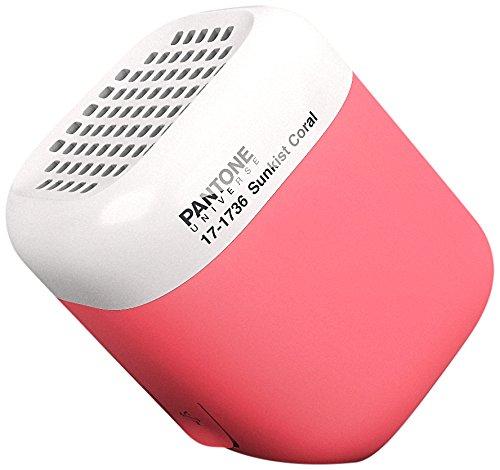 Pantone by KAKKOii 15402 Bluetooth Micro Lautsprecher sunkist coral