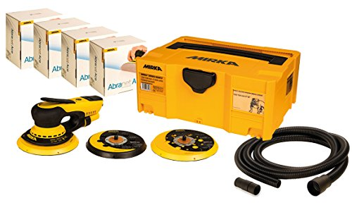 Preisvergleich Produktbild Mirka DEROS 5650CV BLUETOOTH Exzenterschleifer 125-150mm + 200 x Abranet + Schlauch