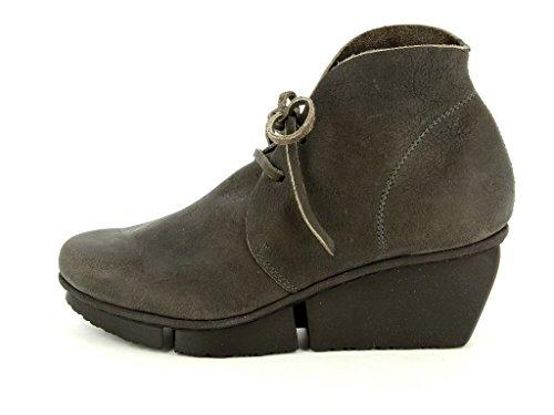 Trippen Splitt Facile smog Damen Boots & Stiefeletten in Mittel Grau