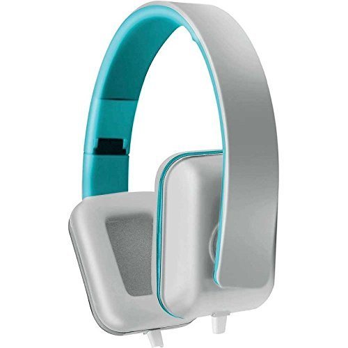Coby cv-h820-wht Colorbeat cuffie stereo W/mic CVH820bianco