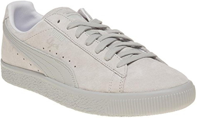 Puma Clyde Hombre Zapatillas Gris  Zapatos de moda en línea Obtenga el mejor descuento de venta caliente-Descuento más grande