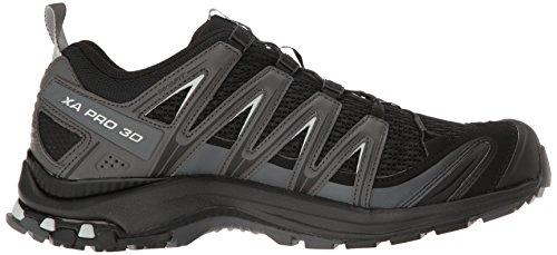 Salomon XA Pro 3D, Chaussures de randonnée homme Multicolore (Black/magnet/quiet Shade)