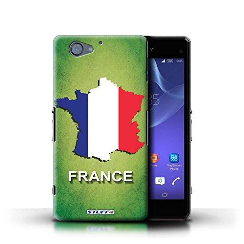 Kobalt® Imprimé Etui / Coque pour Sony Xperia A2 / Thaïlande/Thai conception / Série Drapeau Pays France/Français