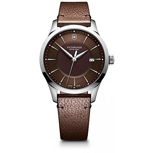 Victorinox Reloj Analógico para Hombre de Cuarzo con Correa en Cuero 241805